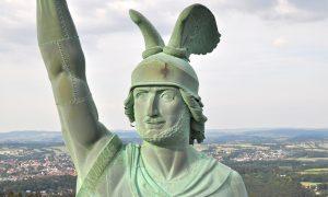Drohnenverbot am Hermannsdenkmal